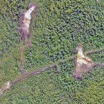 En plus de localiser avec précision les anciens travaux, le levé fourni une base précise pour la cartographie géologique de détail (Les Ressources Tectonic Inc. projet Kill Bill).