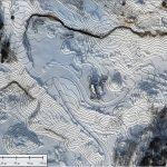 Un levé de drone professionnel permet de faire une carte d'élévation digitale et de calculer des volumes d'excavations ou de matériel, par exemple pour le cas d'excavations dans le roc ou de gravier. Ci-contre les courbes de niveau aux 1m de la même excavation.